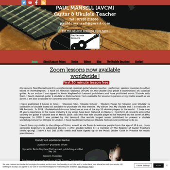 Paulmansell.co.uk thumbnail