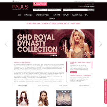 Pauls-hair-world.co.uk thumbnail
