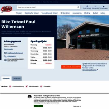Paulwillemsennl At Wi Home Bike Totaal Paul Willemsen Uw