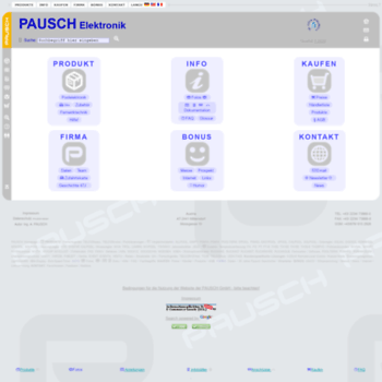 Pausch.at thumbnail