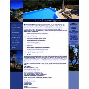 paxospropertyagency co uk at WI  Paxos Property Agency