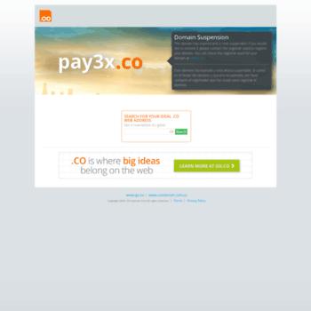 Pay3x.co thumbnail