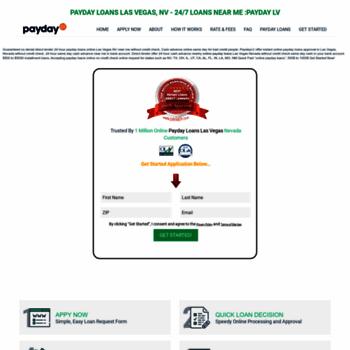 paydaylv com at WI  Payday Loans Las Vegas Nevada No Credit