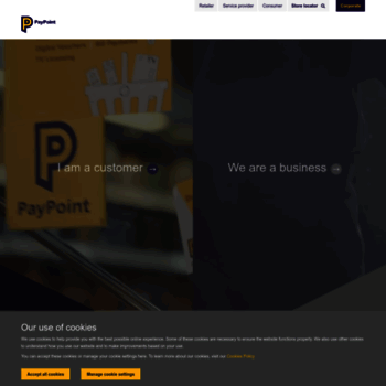 paypoint com at WI  Retail payments & services, mobile