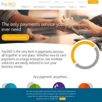 paypoint net at WI  Integrated payment services - online
