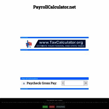 payroll calculator wi - Parfu kaptanband co
