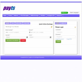 Paytel.co.in thumbnail