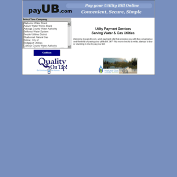 payub com at WI  Pay Your Utility Bill