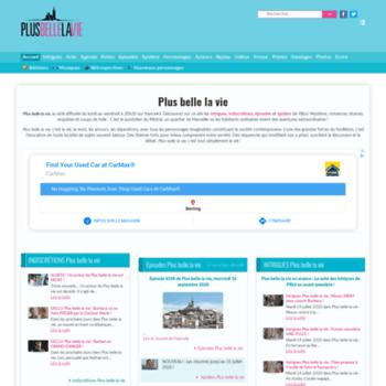Pblv-plusbellelavie.fr thumbnail