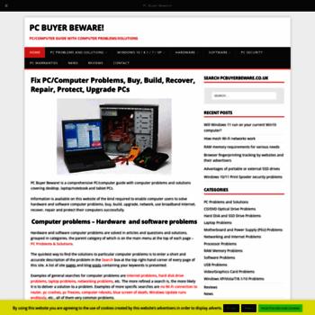 Pcbuyerbeware.co.uk thumbnail