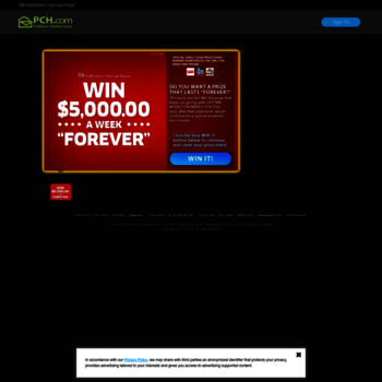 pch com at WI  Free Online Sweepstakes & Contests | PCH com