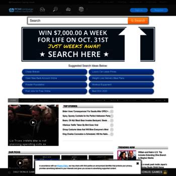 pchfrontpage com at Website Informer  Frontpage  Visit Pch Frontpage