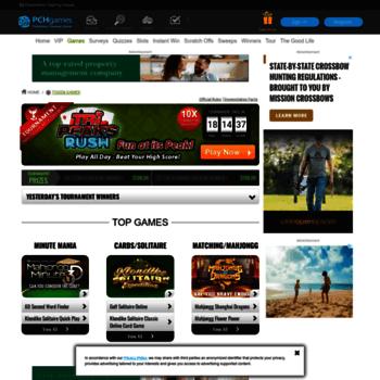 pchgames com at WI  Token Games   PCH com