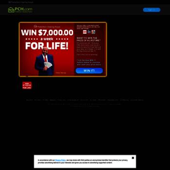 pchlotto com at WI  PCH Lotto   PowerPrize