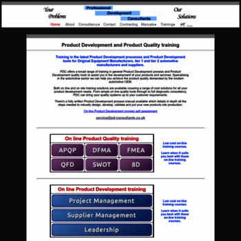 Pd-consultants.co.uk thumbnail