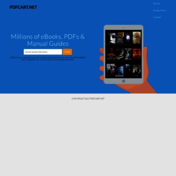 Pdfcart.net thumbnail