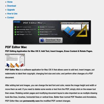 pdfeditormac com at WI  PDF Editor Mac - PDF Editing