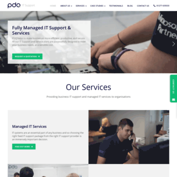 pdq co uk at WI  PDQ IT Support London - Providing expert IT