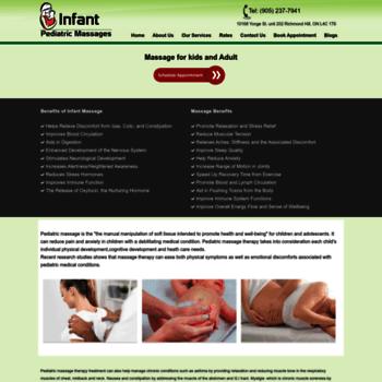 Pediatricmassages.ca thumbnail