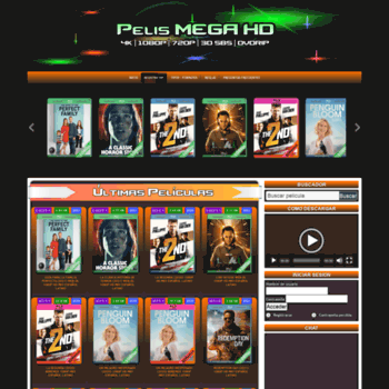 pelismegahd org at WI  PelisMEGAHD | 4K - 1080p - 720p - 3D SBS