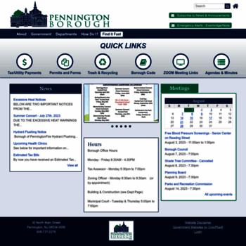 Penningtonboro.org thumbnail