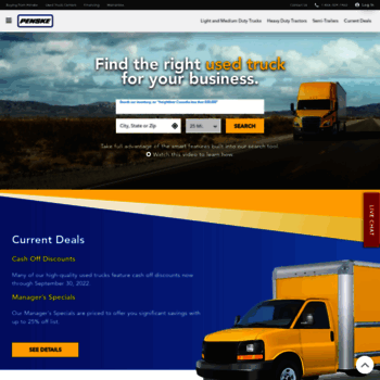 Penskeusedtrucks Com At Wi Used Commercial Trucks Heavy Duty