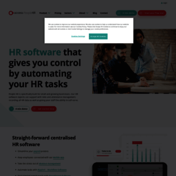 peoplehr com at WI  HR Software from People HR | HR Systems | Try