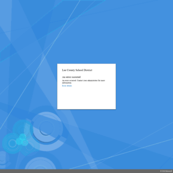 lee county school district peoplesoft login