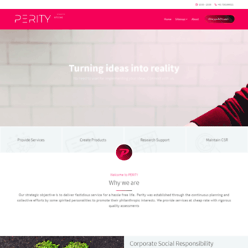 Perity.site thumbnail
