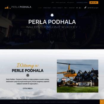 Perlapodhala.pl thumbnail
