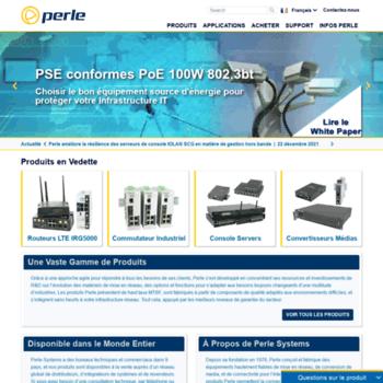 Perlesystems.fr thumbnail