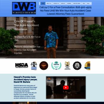 personal-injury-hawaii com at WI  2018 Top Rated Hawaii Auto