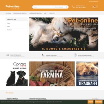 Pet-online.it thumbnail