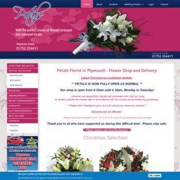Petals-florist.co.uk thumbnail