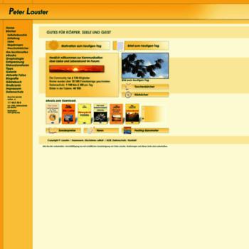 Peterlauster.net thumbnail