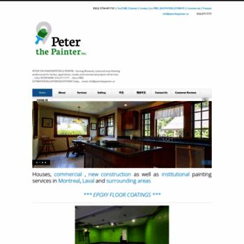 Peterthepainter.ca thumbnail