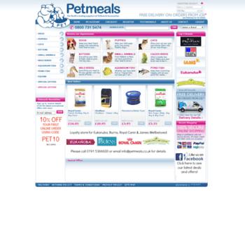 Petmeals.co.uk thumbnail