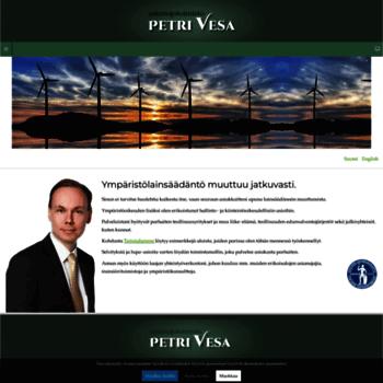 Petrivesa.fi thumbnail