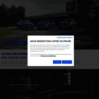 Peugeot.lu thumbnail