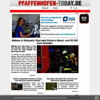 Pfaffenhofen-today.de thumbnail