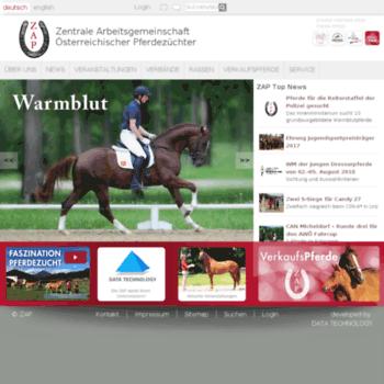 Pferdezucht-austria.at thumbnail