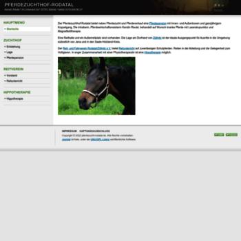 Pferdezucht-rodatal.de thumbnail