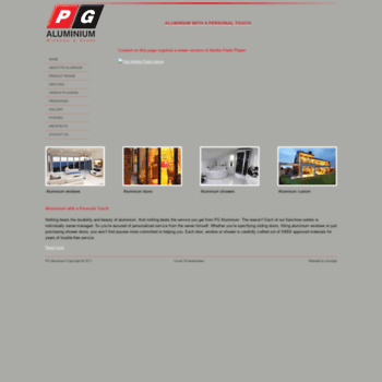 Pgaluminium.co.za thumbnail