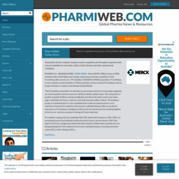 Pharmiweb.co.uk thumbnail