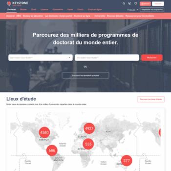 Phdstudies.fr thumbnail