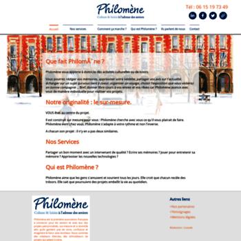 Philomene-seniors.fr thumbnail