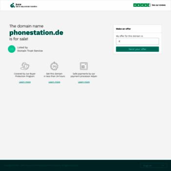 Phonestation.de thumbnail