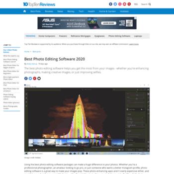 Photo-editing-software-review.toptenreviews.com thumbnail