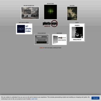 photoeye com at WI  photo-eye | Art Photo Index, Bookstore, Gallery