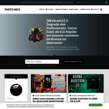 Photohics.com.br thumbnail